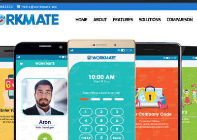 WorkMate Mobile App and Website